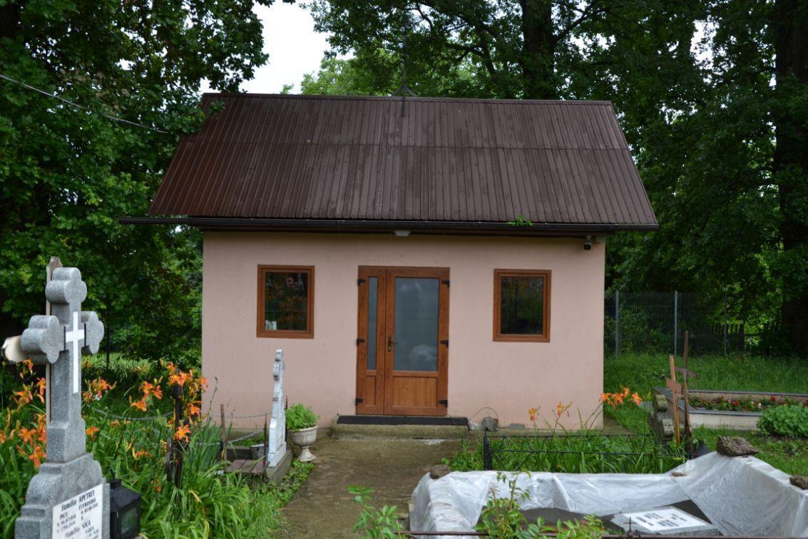 Casa mortuara din Parohia Gura Vaii Vale
