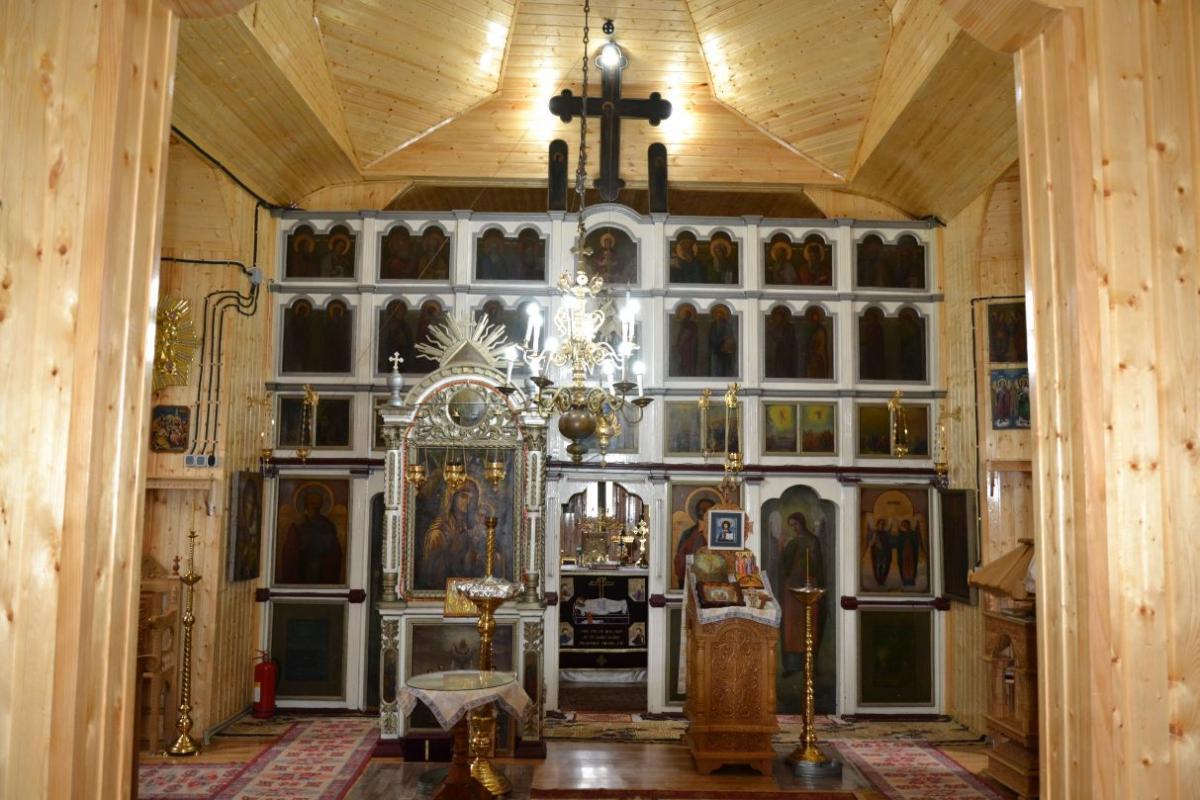 Catapetesma bisericii din Parohia Gura Vaii Vale