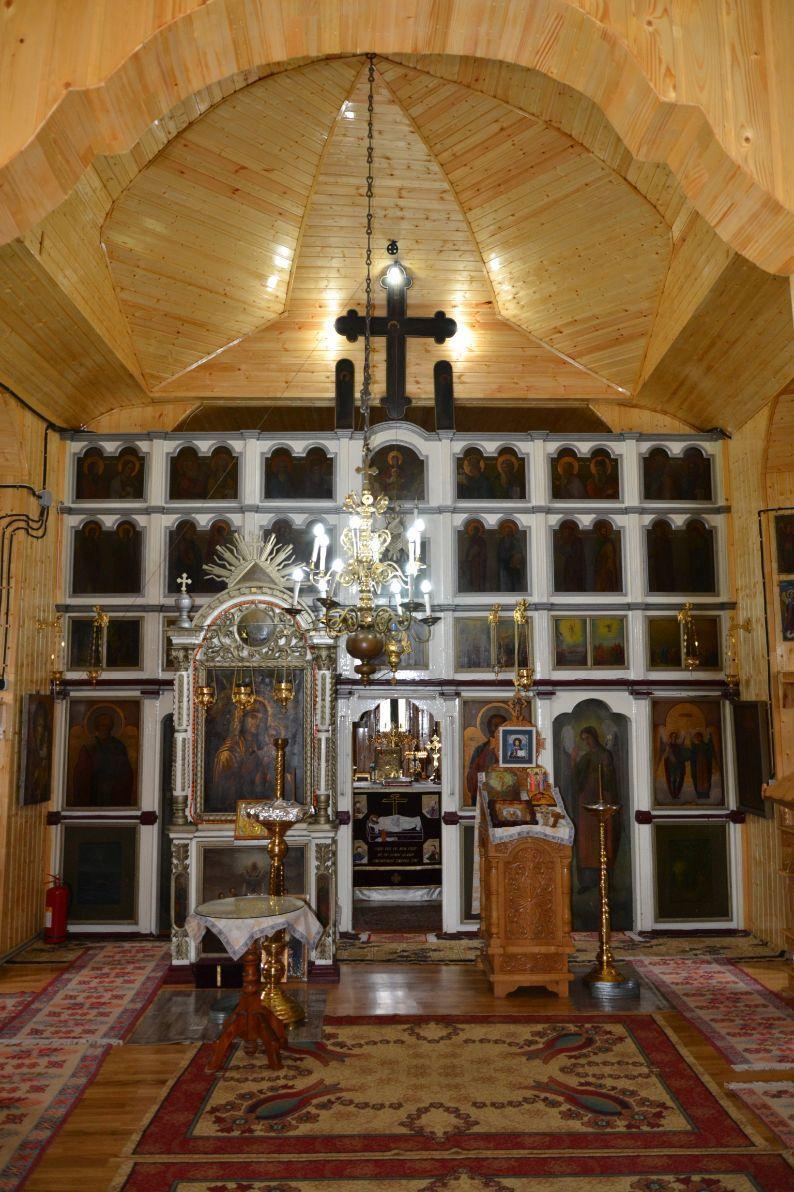 Catapeteasma bisericii din Parohia Gura Vaii Vale